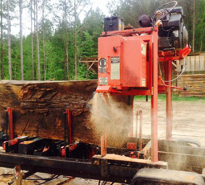 Timberking blog owner stories for Mill log