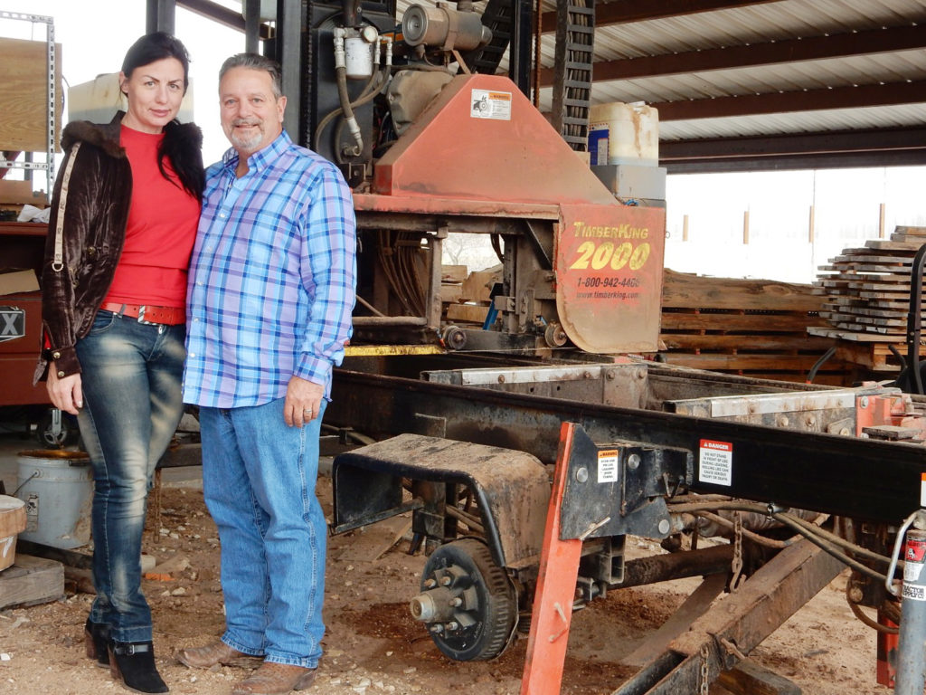 Doug and his wife, Natalia, run their own business, Blackhawk Mill Works. Doug handles production; Natalia does all the online advertising. Together, they've found a formula for woodworking business success!