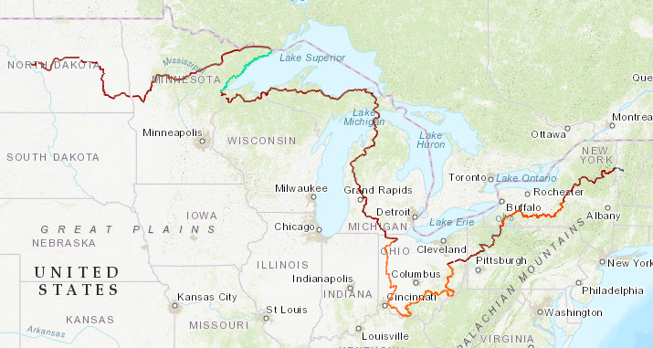The North Country Trail runs through America's heartland from Vermont to North Dakota