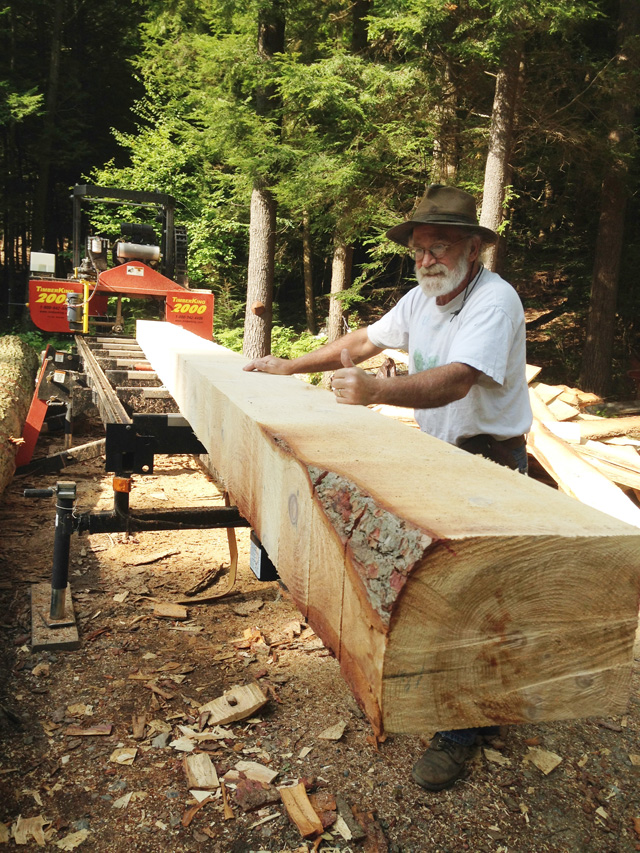 THUMBS UP for do-it-yourslf sawyers all across America...like Hank Dimuzio and his TimberKing 2000!