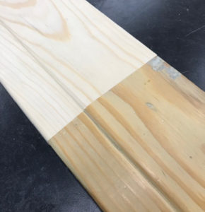 One of the Biglers' money-makers is duplicating antique trim for home restoration after a fire or flood. They send a piece of original trim to Woodmaster, and Woodmaster manufactures an exact-match molding knife.