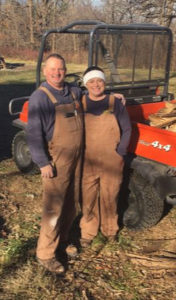"""Man and wife workmates, Robert and Amy Bigler have launched a woodworking business with TimberKing and Woodmaster equipment. """"We will grow and succeed because that's the kind of people we are!"""""""
